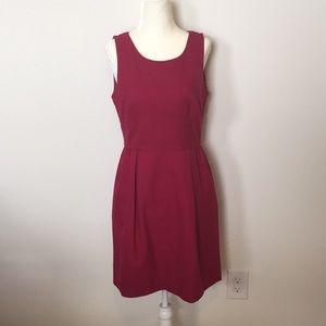Maroon DRESS. J. Crew size 6. 🎀👗🌺